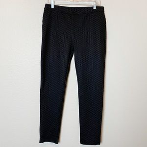 NWT Sanctuary Black Diamond Ponte Leggings XL